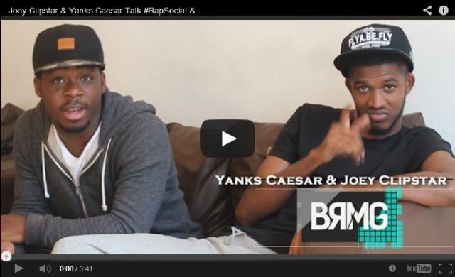 BRITHOPTV- [Video Interview] Joey Clipstar (@JoeyClipstar) & Yanks Caesar (@YanksCaesar) Talk #RapSocial & Moving To Radio King - BRMG - #UKRap.