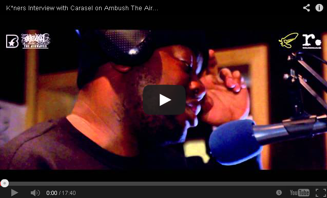 BRITHOPTV- [Video Interview] K-ners (@K_NERS) Interview with Carasel on Ambush The Airwaves - #UKHipHop #UKRap.
