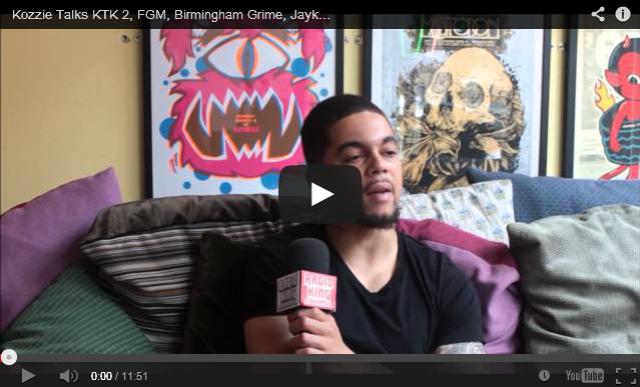 BRITHOPTV- [Video Interview] Kozzie ( @OfficialKozzie) Talks KTK 2, FGM, Birmingham Grime, @Jaykae__Invasion, @VillainInvasion & More - #Grime.
