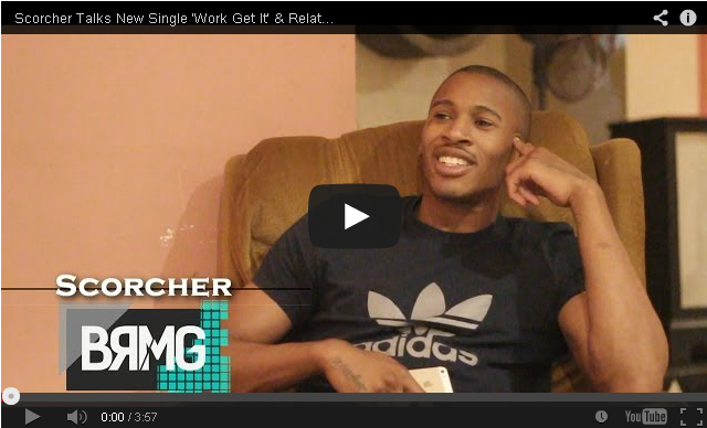 BRITHOPTV- [Video Interview] Scorcher (@ScorchersLife) talks New Single 'Work Get It' & Relationship With The Movement - BRMG - #Grime #UKRap