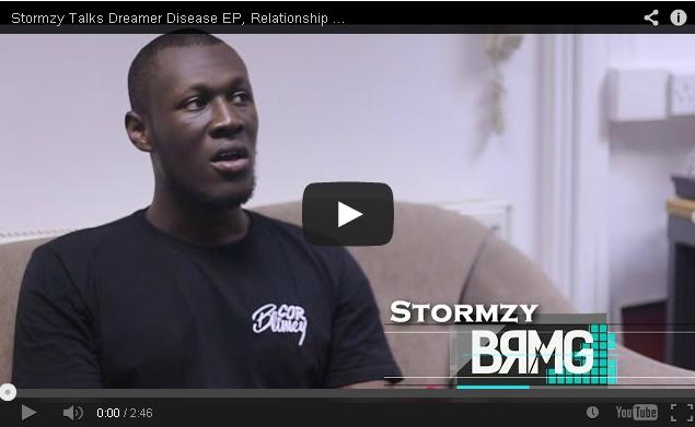 BRITHOPTV- [Video Interview] Stormzy (@Stormzy1) Talks Dreamer Disease EP, Relationship With Bonkaz (@OfficialBonkaz) & More- BRMG - #Grime #UKUrban.
