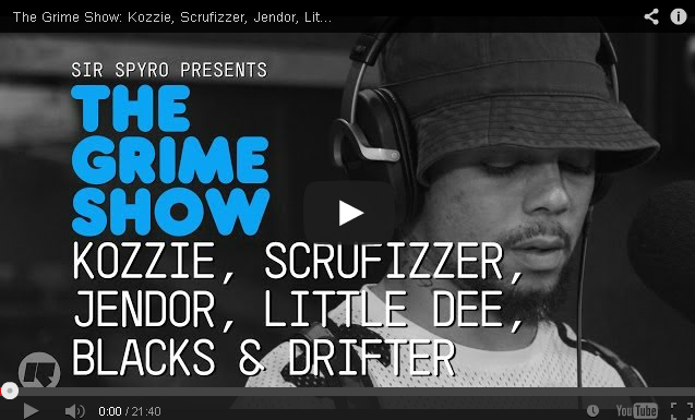 BRITHOPTV- [Video Set] Kozzie (@OfficialKozzie), Scrufizzer (@Scrufizzer) Jendor (@hollowmanjendor) Little Dee (@LittleDeeMusic) Blacks (@KingBlacks) Drifter (@SirDrifter) on @SirSpyro #GrimeShow.