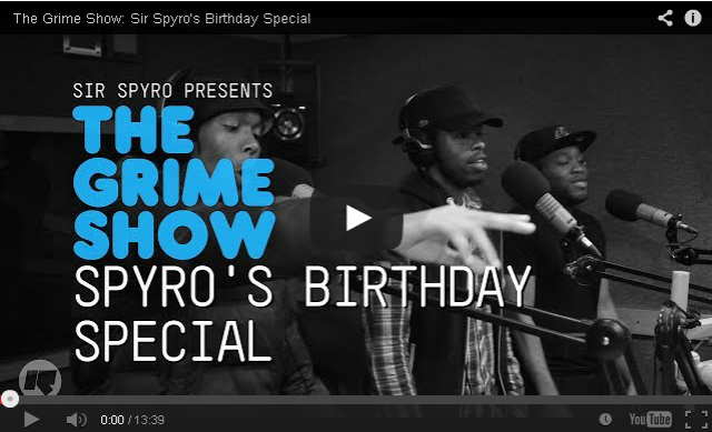 BRITHOPTV- [Video Set] @MerkyACE, @TKO_FT @Ego_FT @PrinceRapid @Discarda @Lightninartist on @SirSpyro #GrimeShow Birthday Special [ @RinseFM] - #Grime.