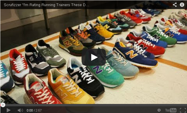 """BRITHOPTV- [Web Show] Scrufizzer (@Scrufizzer) – """"I'm Rating Running Trainers These Days"""" [Trainer Game] - #Grime."""