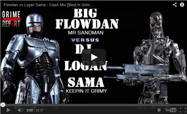 BRITHOPTV_ [DJ Mix] Flowdan (@BigFlowdan) vs Logan Sama (@DJLoganSama) – Clash Mix [Best In Grime 2014] I #Grime