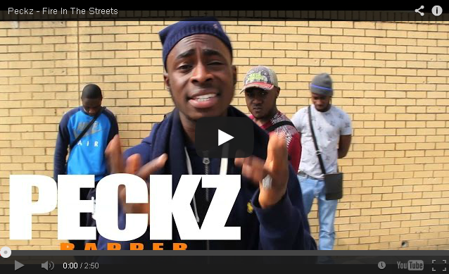BRITHOPTV: [Freestyle Video] Peckz (@PeckzOfficial) - ' #FireInTheStreets' [ @CharlieSloth] | #UKRap #UKHipHop