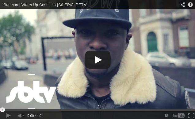 BRITHOPTV: [Freestyle Video] Rapman (@RealRapman) - ' #WarmUpSessions' [S8.EP4] | #UKRap #UKHipHop