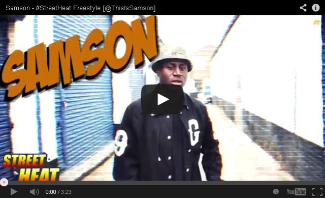 BRITHOPTV: [Freestyle Video] Samson (@ThisIsSamson) - #StreetHeat Freestyle | #UKRap #UKHipHop