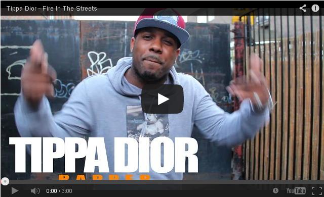 BRITHOPTV: [Freestyle Video] Tippa Dior (@TippaDior) - ' #FireInTheStreets' [ @CharlieSloth] | #UKRap #UKHipHop