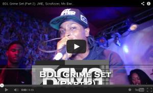 BRITHOPTV: [Live Performance] BDL Grime Set: JME (@JMEBBK), Scufizzer (@Scrufizzer), Ms Banks (@MsBanks92)', C Cane (@OfficialCCane) , Discarda (Discarda) & Ten Dixon (@MrTenDixon) (Part 2) [@BlueReignMG]| #Grime