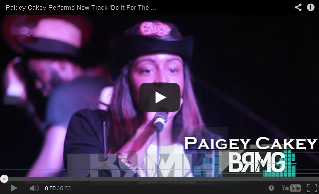 BRITHOPTV_ [Live Performance] Paigey Cakey (@Paigey_Cakey) Performs New Track 'Do It For The Vine' & 'Day One' + More [@BlueReignMG] I #UKRap #UKHipHop