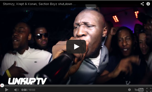 BRITHOPTV: [Live Performance] Stormzy (@Stormzy1), Krept & Konan (@KreptandKonan), Section Boyz (@SectionBoyz) shut down Dreamers Disease Launch Party| #UKHipHop #UKRap