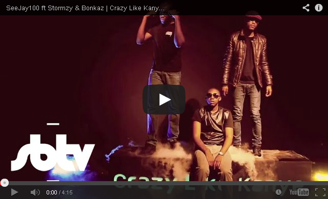 BRITHOPTV_ [Music Video] SeeJay100 (@Call_Me100) – 'Crazy Like Kanye ft Stormzy (@Stormzy1) & Bonkaz (@OfficialBonkaz)' I #UKRap #UKHipHop