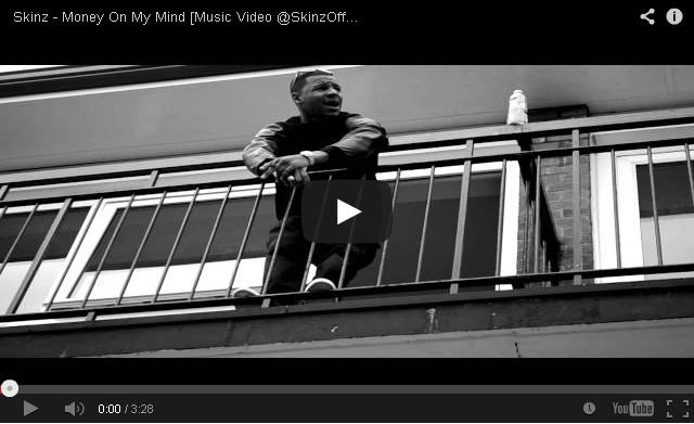 BRITHOPTV_ [Music Video] Skinz (@SkinzOfficial) – 'Money On My Mind' I #UKRap #UKHipHop.