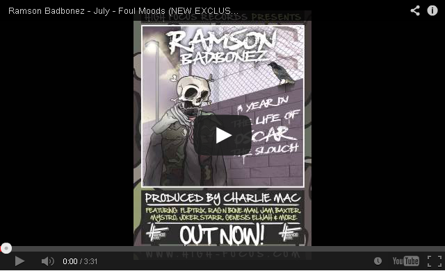 BRITHOPTV: [New Music] Ramson Badbonez (@ramsonbadbonez) - 'Foul Moods' | #UKRap #UKHipHop