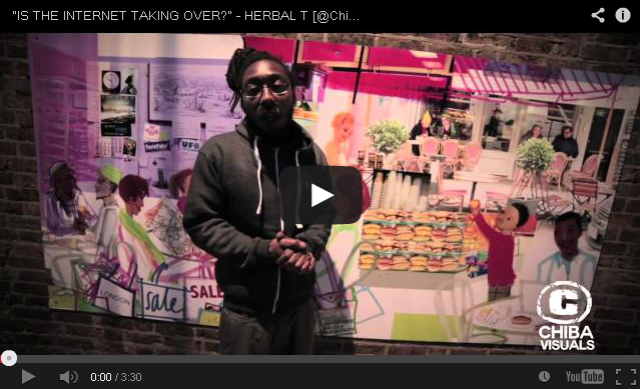 "BRITHOPTV: [Video Interview] Herbz (@Herbzmusic) ""Is The Internet Taking Over?"" [@ChibaVisuals] 