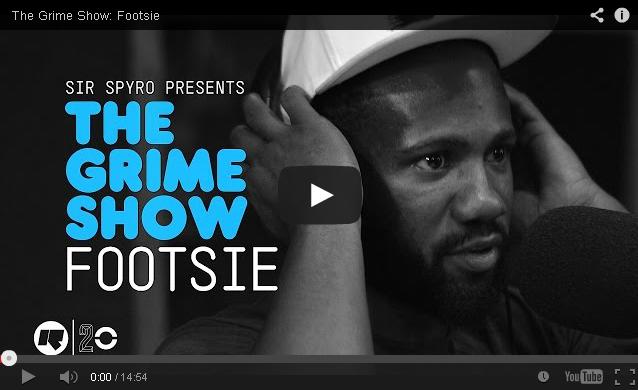 BRITHOPTV: [Video Set] Footsie (@Footsie) on @SirSpyro #GrimeShow [@RinseFM] | #Grime