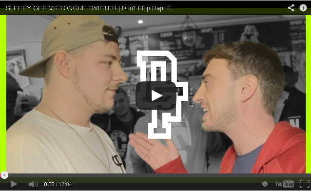 BRITHOPTV: [Battle Video] Sleepy Gee ( @SleepYGee1) Vs Tongue Twister ( @MrTongueTweeter) [ @DontFlop] | #UKHipHop #UKBattleRap
