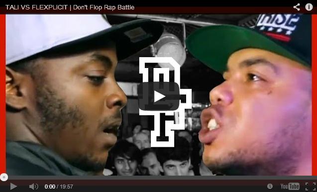 BRITHOPTV: [Battle Video] Tali  ( @TaliMusicUk) Vs Flexplicit ( @FlexTheTruth) [ @DontFlop]   #UKHipHop #UKBattleRap