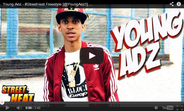 BRITHOPTV: [Freestyle Video] Young Adz ( @YoungAdz1) - #StreetHeat Freestyle   #UKRap #UKHipHop