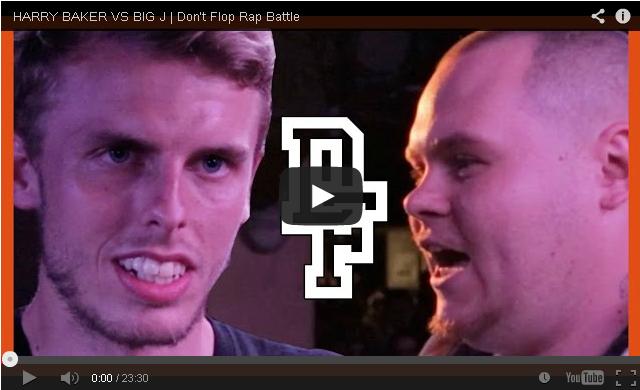 BRITHOPTV: [Battle Video] Harry Baker (@HarryBakerPoet) Vs - Big J (@BigJWest) [ @DontFlop] | #UKRap #UKHipHop