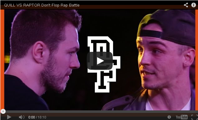 BRITHOPTV: [Battle Video] Quill (@Quillyrics) Vs Raptor ( @RaptorWarhurst) [ @DontFlop] | #UKHipHop #UKBattleRap