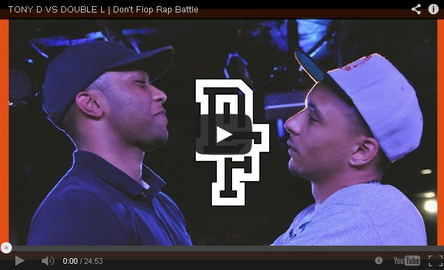 BRITHOPTV: [Battle Video] Tony D (@Tonydpoison) Vs Double L (@doublelwv) [ @DontFlop] | #UKHipHop #UKBattleRap