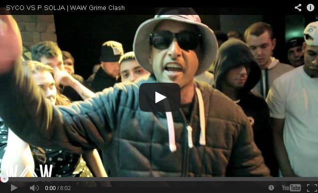 BRITHOPTV: [Battle Video] WAW Grime Clashes: Syco (@sycodarkside) Vs P Soljah (@psolja) [@wawgrimeclashes] | #Grime