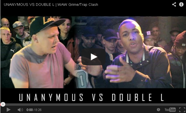BRITHOPTV: [Battle Video] WAW Grime /Trap Clash: Unanymous (@UnanymousMate) Vs Double L (@doublelwv) [@WAWGrimeClashes] | #Grime