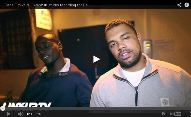 BRITHOPTV: [Behind The Scenes] Blade Brown (@BladeMusic) & Skrapz (@SkrapzIsBack) in studio recording for 'Bags & Boxes 3' | #UKRap #UKHipHop