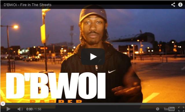 BRITHOPTV: [Freestyle Video] D'BWOi ( @ITSDBWOI) - ' #FireInTheStreets' [ @CharlieSloth]   #UKRap #UKHipHop