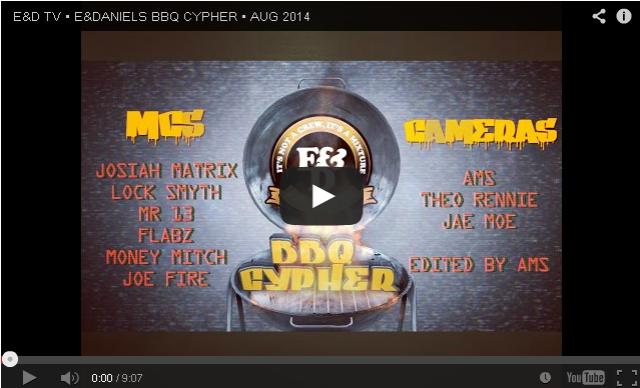 BRITHOPTV: [Freestyle Video] E & Daniels (@EandDaniels) - #BBQCYPHER Freestyle AUG 2014 | #UKRap #UKHipHop