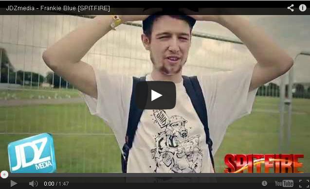BRITHOPTV: [Freestyle Video] Frankie Blue (@frankieblueafuk) - ' #Spitfire' [ @JDZMedia] | #Grime