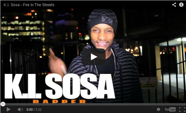 BRITHOPTV: [Freestyle Video] K.i. Sosa (@k_i_sosa) - ' #FireInTheStreets' [ @CharlieSloth] | #UKRap #UKHipHop