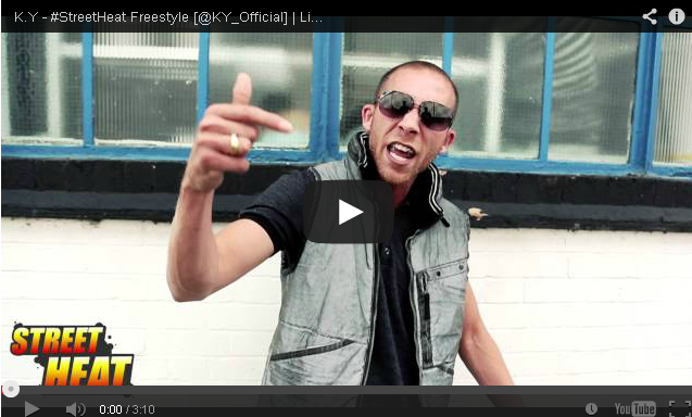 BRITHOPTV: [Freestyle Video] K.Y ( @KY_Official) - #StreetHeat Freestyle | #UKRap #UKHipHop