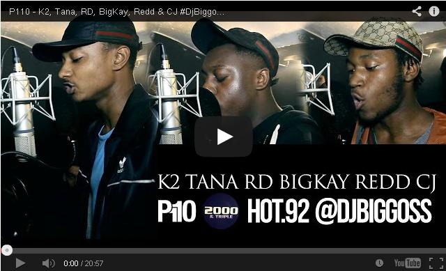 BRITHOPTV: [Freestyle Video] K2 (@K2_RIPSHAMZ), Tana (@Don_Tana), RD, BigKay, Redd & CJ #DjBiggossHOT92 (@DjBiggoss) [ @P110Media] | #UKRap #UKHipHop