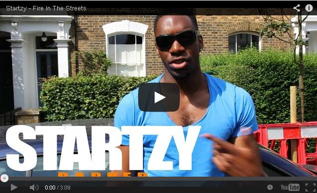 BRITHOPTV: [Freestyle Video] Startzy (@STARTZYONLINE) - ' #FireInTheStreets' [ @CharlieSloth]   #UKRap #UKHipHop
