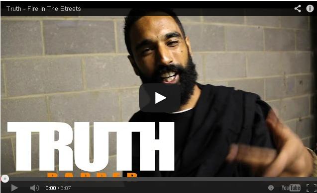 BRITHOPTV: [Freestyle Video] Truth (@iamstilltruth) - ' #FireInTheStreets' [ @CharlieSloth] | #UKRap #UKHipHop