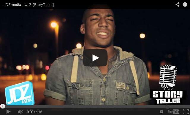 BRITHOPTV: [Freestyle Video] U.G (@UGTALKS) - ' #StoryTeller' #Freestyle [ @JDZMedia] | #UKRap #UKHipHop