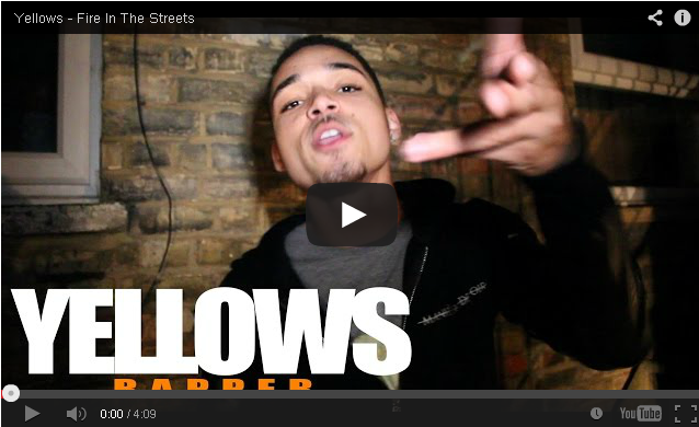 BRITHOPTV: [Freestyle Video] Yellows (@YellowsUK) - ' #FireInTheStreets' [ @CharlieSloth] | #UKRap #UKHipHop