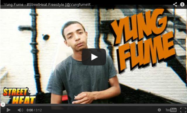 BRITHOPTV: [Freestyle Video] Yung Fume (@Yungfumelitm) - #StreetHeat Freestyle | #UKRap #UKHipHop