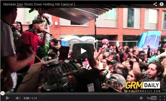 BRITHOPTV: [Live Performance] Meridian Dan (@Meridian_Dan) shuts down Notting Hill Carnival | #Grime