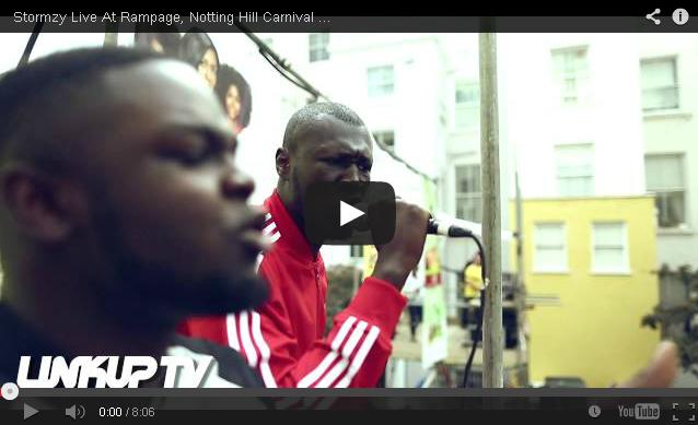 BRITHOPTV: [Live Performance] Stormzy (@Stormzy1) Live at Rampage, Notting Hill Carnival 2014 | #UKRap #UKHipHop