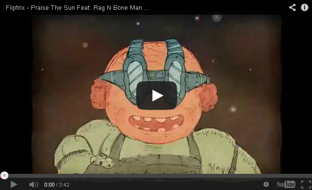 BRITHOPTV: [Music Video] Fliptrix (@MrFliptrix) - 'Praise The Sun Feat. Rag N Bone Man (@RagNboneManuk)' [Prod. Molotov] (Animated) | #UKRap #UKHipHop