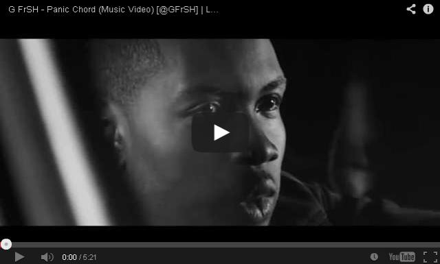 BRITHOPTV: [Music Video] G FrSH (@GFrSH) - 'Panic Chord' | #UKRap #UKHipHop