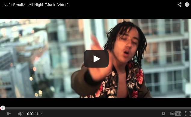 BRITHOPTV: [Music Video] Nafe Smallz (@Nafe Smallz) - 'All Night' | #UKRap #UKHipHop