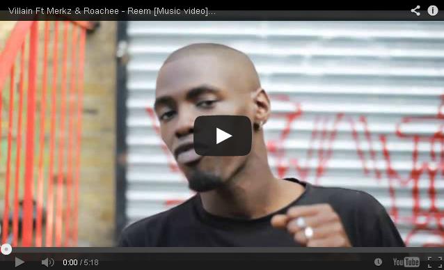 BRITHOPTV: [Music Video] Villain (@VillainInvasion) - 'Reem Ft Merkz (@MarcusMerkz_) & Roachee (@Roachmaterial)' | #UKRap #UKHipHop