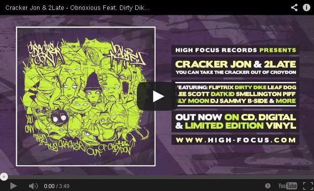 BRITHOPTV: [New Music] Cracker Jon & 2Late - 'Obnoxious Feat. Dirty Dike (@DirtyDikeSMB) & Lee Scott' [@HighFocusUK]   #UKRap #UKHipHop