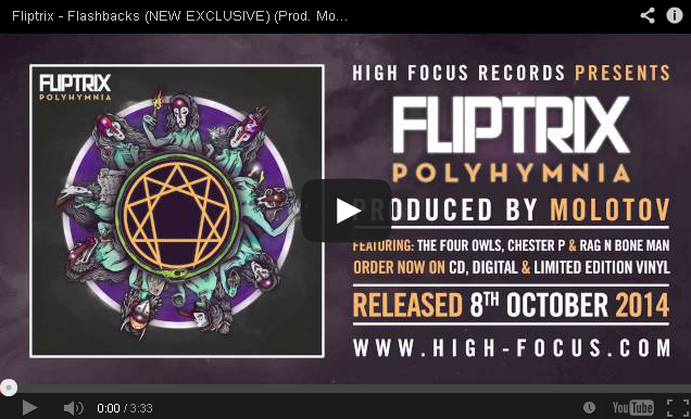BRITHOPTV: [New Music] Fliptrix (@MrFliptrix) - 'Flashbacks'| #UKRap #UKHipHop