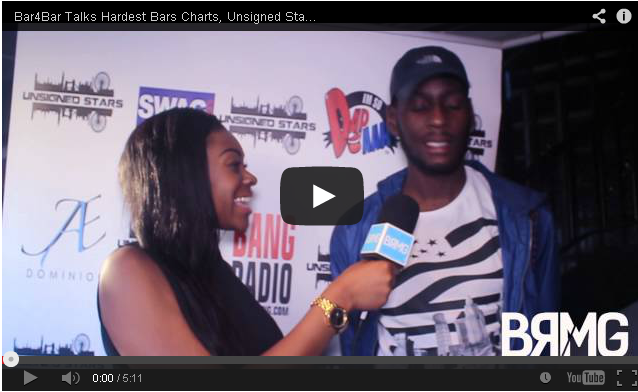 BRITHOPTV: [Video Interview] Bar4Bar (@B4BMusic) talks Hardest Bars Charts, Unsigned Stars & More [@BlueReignMG] | #UKRap #UKHipHop